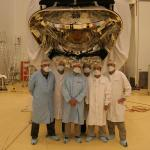 425-Telescope finalization team with ESA