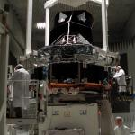093-Spacecraft on CATR positioner